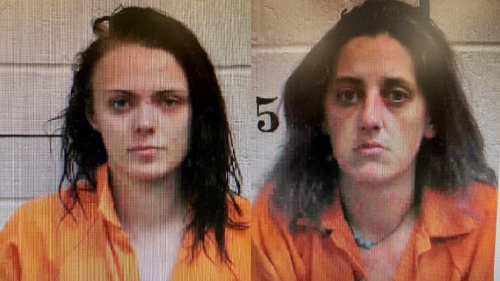 Jordan Carlee Schmitt and Tiffany June Newman arrested - Dunlap Police Department.PNG