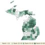 Some northern Michigan counties rank high in new county health report