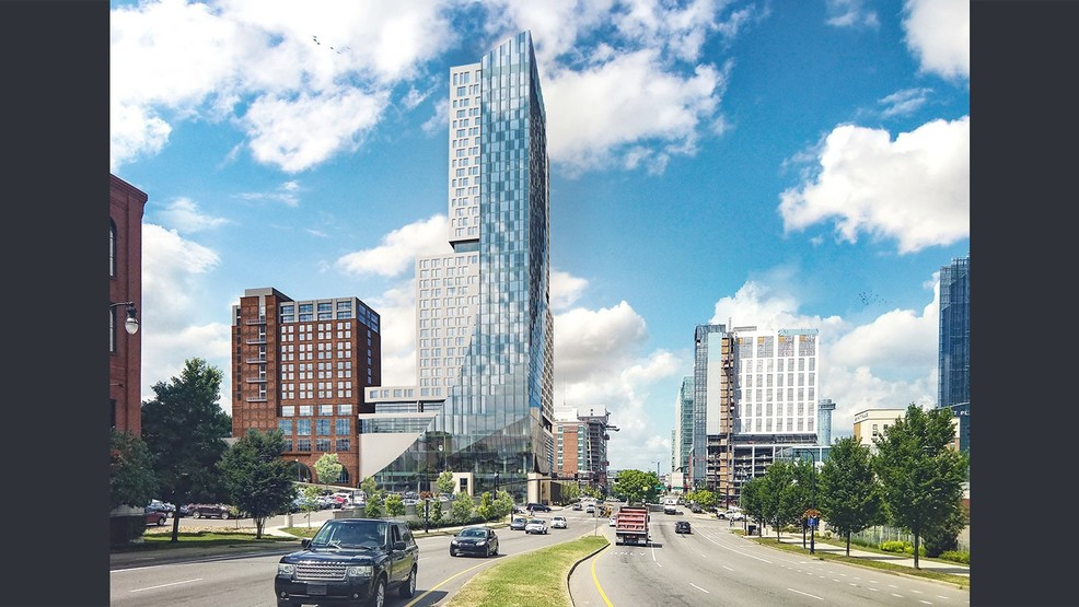 Two hotels, one tower: What's going up in Nashville's SoBro neighborhood
