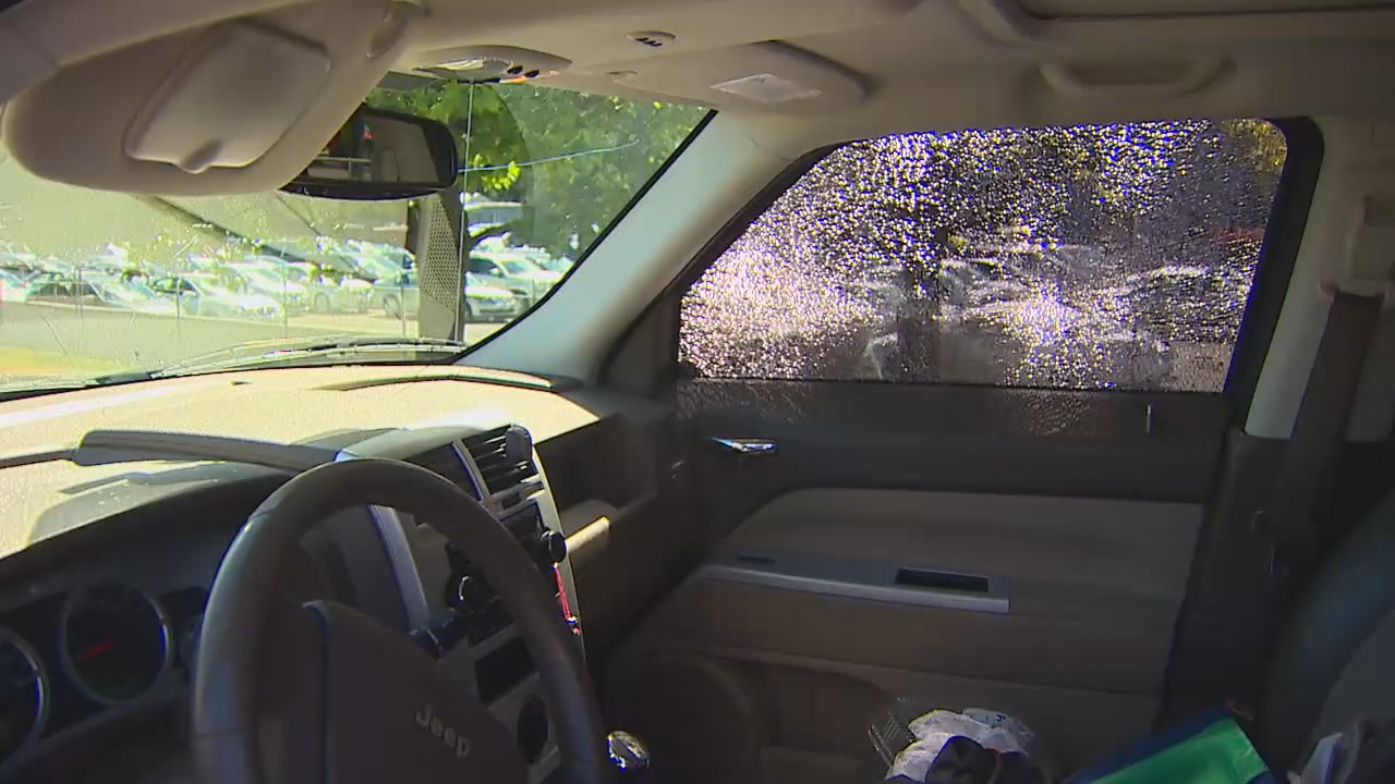 Troopers investigating a shooting that left 4 cars with bullet holes along SR-509 on June 13, 2018. (KOMO Photo)