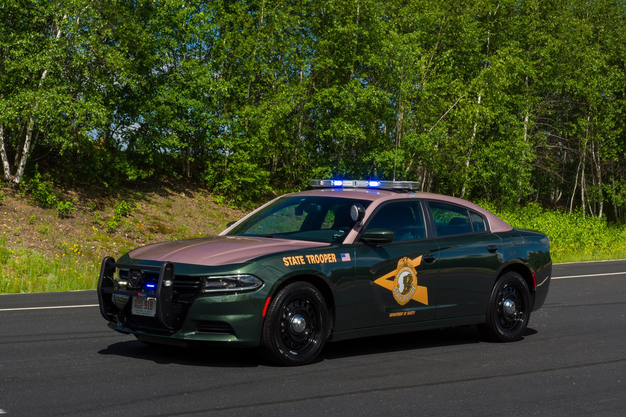 New Hampshire State Police. (American Association of State Troopers|Facebook)