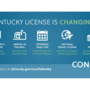 Here are the changes coming to Kentucky driver licenses