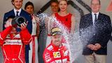 Vettel wins Monaco GP ahead of Ferrari teammate Raikkonen