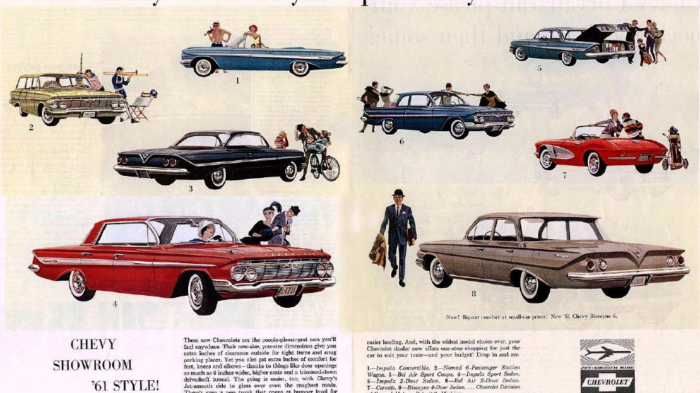 Cars We Remember New Car Shopping With Our Dads In The Early 1960s