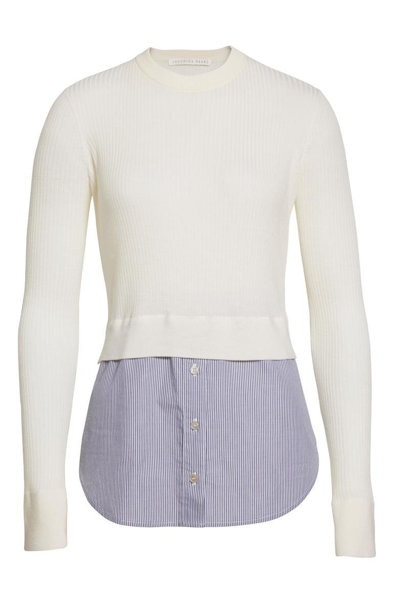 Veronica Beard Cassie Combo Sweater - $229.90 (after sale $350) (Image: Nordstrom)