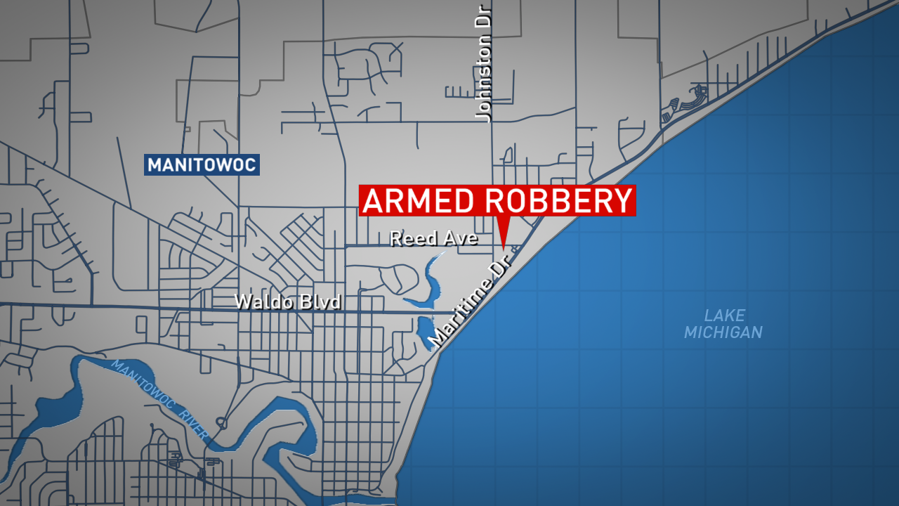 Location of the CVS Pharmacy which was robbed Dec. 26, 2017. (WLUK graphic)<p></p>