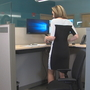 Local company gives employees options to sit or stand at work