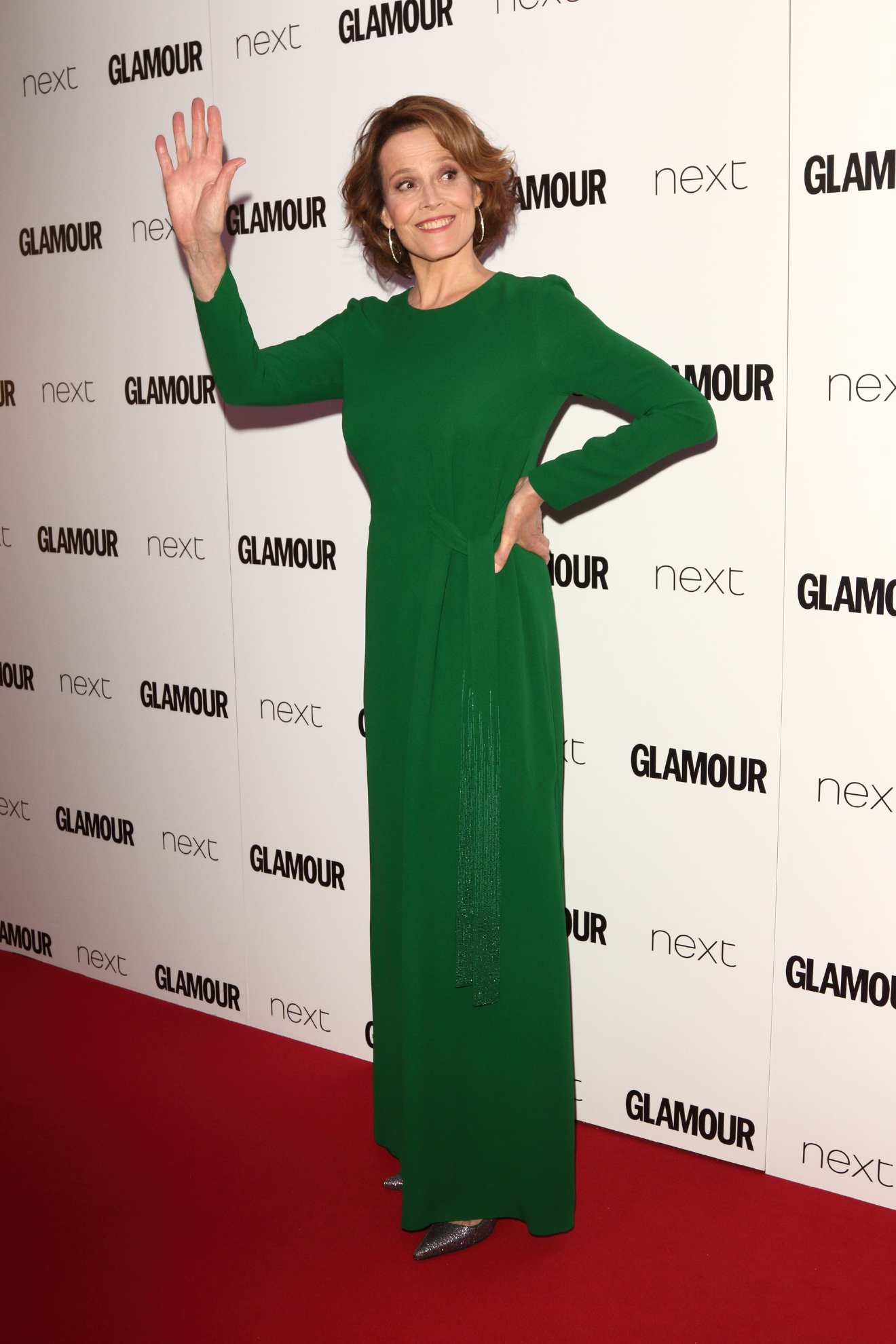 Glamour Women Of The Year Awards at Berkeley Square Gardens, London                                                                      Featuring: Sigourney Weaver                                   Where: London, United Kingdom                                   When: 07 Jun 2016                                   Credit: WENN.com