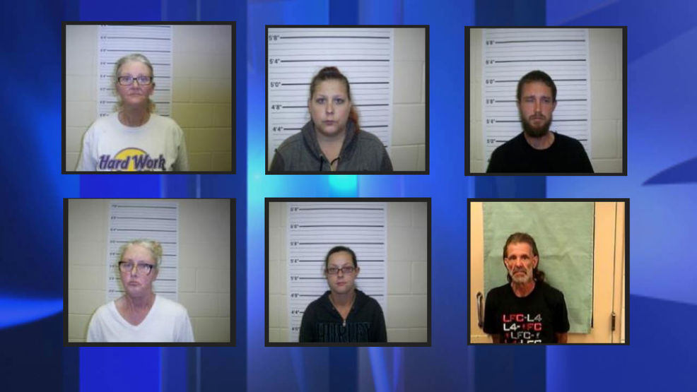 Six arrested in Pamlico County on drug trafficking charges - WCTI12