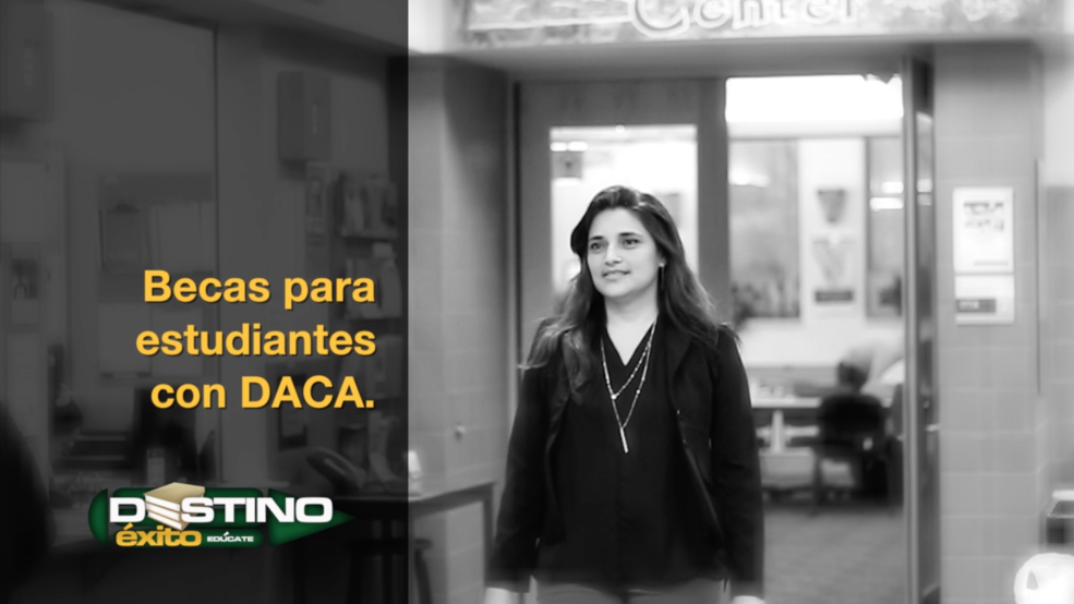 Becas disponibles para estudiantes con DACA