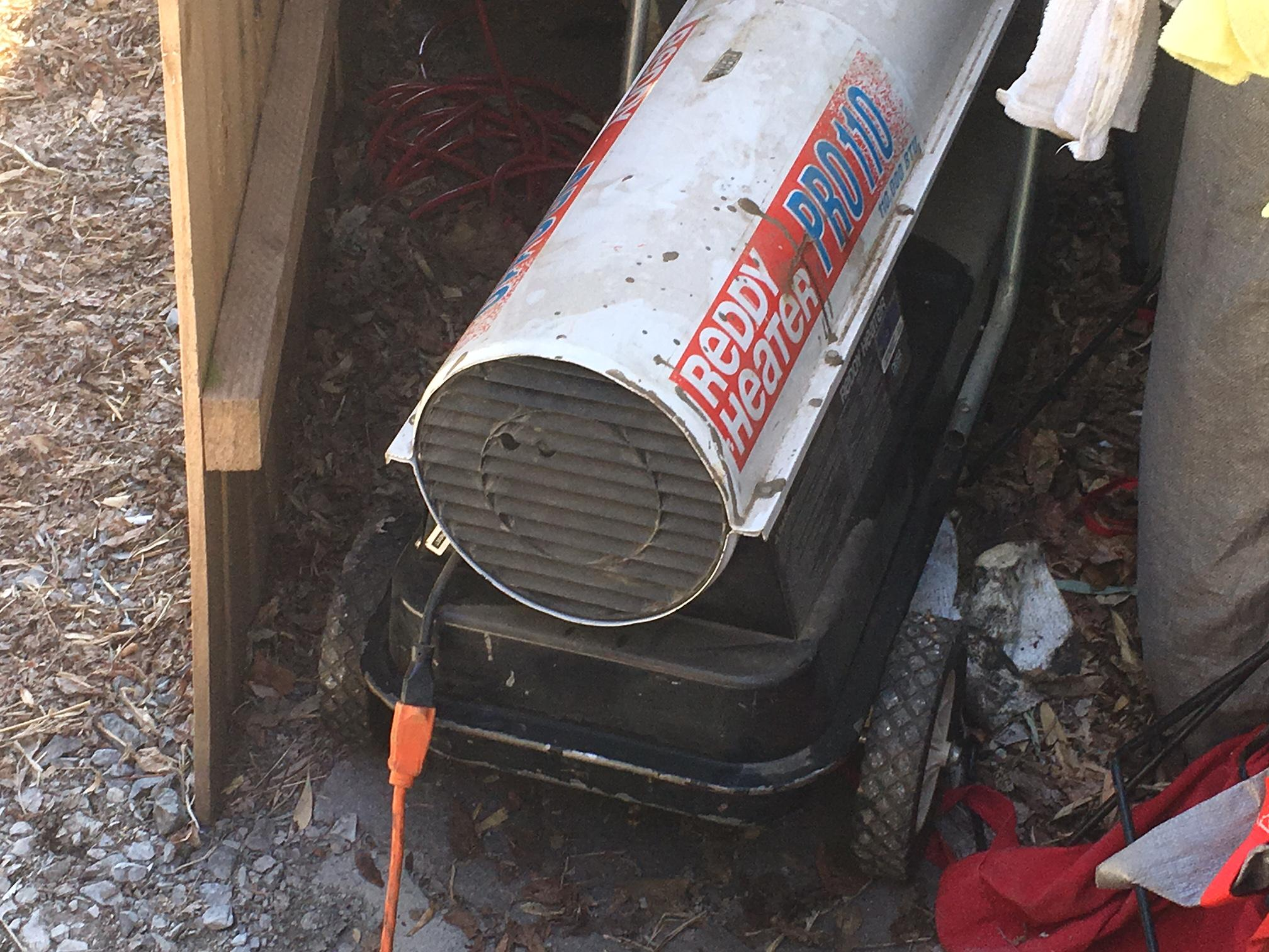 Many folks in the mountains woke up Tuesday morning to find their pipes had frozen as a result of frigid temperatures. John Dale of Western Carolina Plumbing offered some advice to keep in mind during times of cold weather. (Photo credit: WLOS Staff)