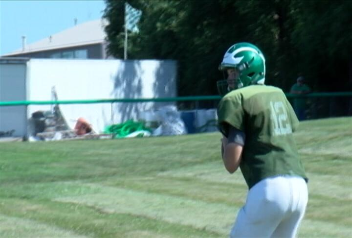 Quarterback Joe Hendricker has a large array of weapons to work with in the Hornets Wing-T Offense this season.