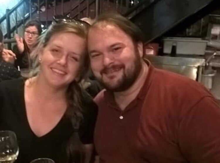 Crystal and John Holcombe. Crystal was killed, but John survived, according to family members. Crystal was 8 months pregnant. John lost his wife, three children and his parents in the shooting. He also lost a brother and an infant niece, according to family members. (Photo provided by family)<p></p>