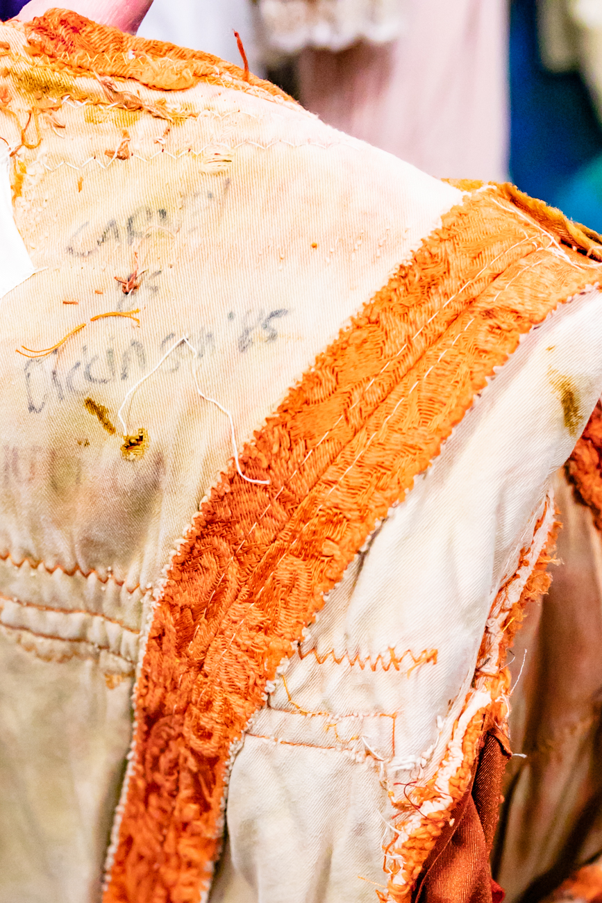 Old name tags and wear and tear from years of past performances are physical reminders of both the legacy of the Cincinnati Ballet as well as Diana's long career in the industry. / Image: Amy Elisabeth Spasoff // Published:{ }12.11.18