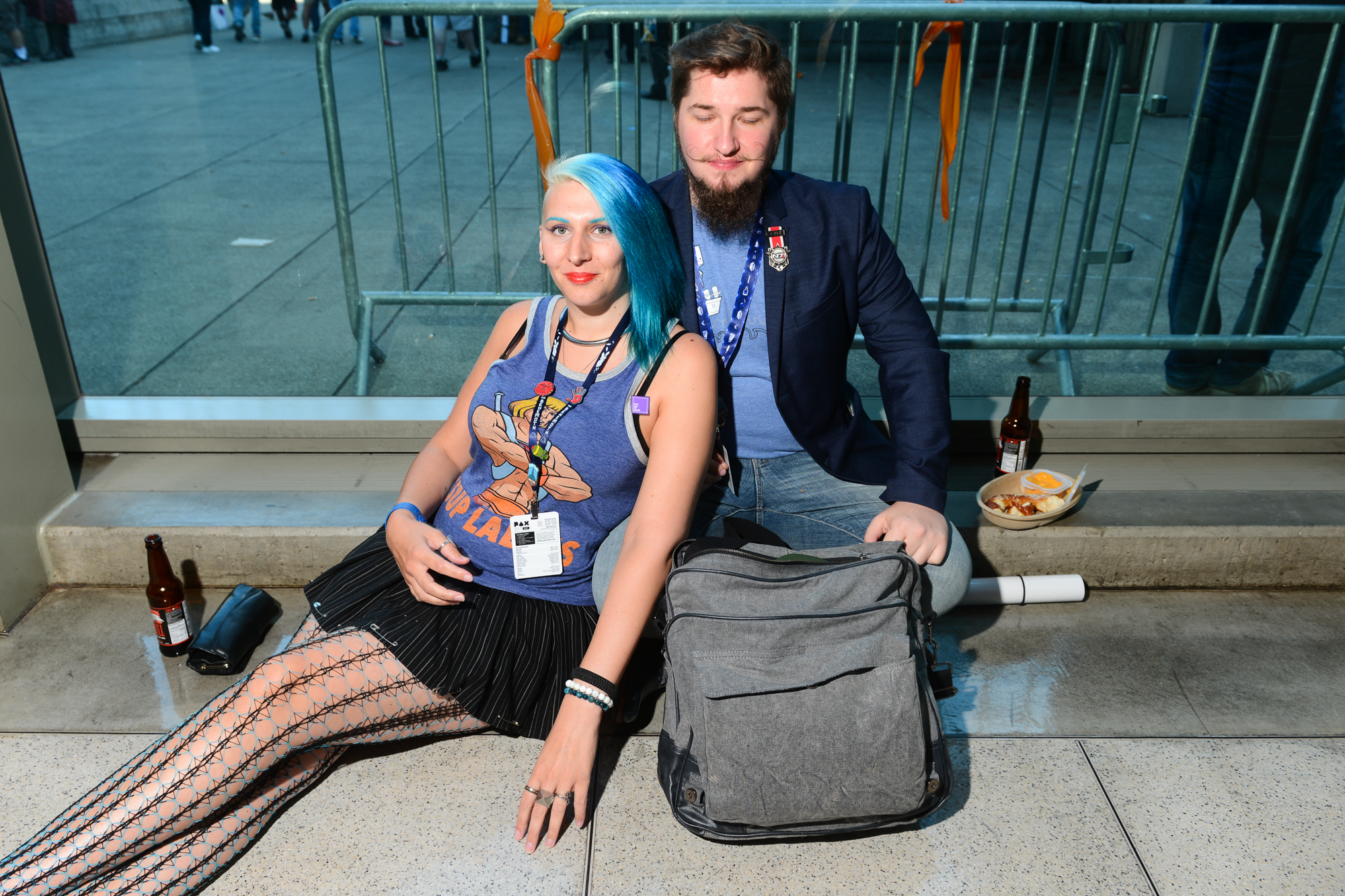 Seattle's Penny Arcade Expo (PAX) brings tens of thousands of people to the Washington State Convention Center ever single year. PAX  includes concerts, arcade games, video game tournaments, cosplay and more - and runs the entire Labor Day weekend from September 1-4, 2017. (Image: Chona Kasinger / Seattle Refined)