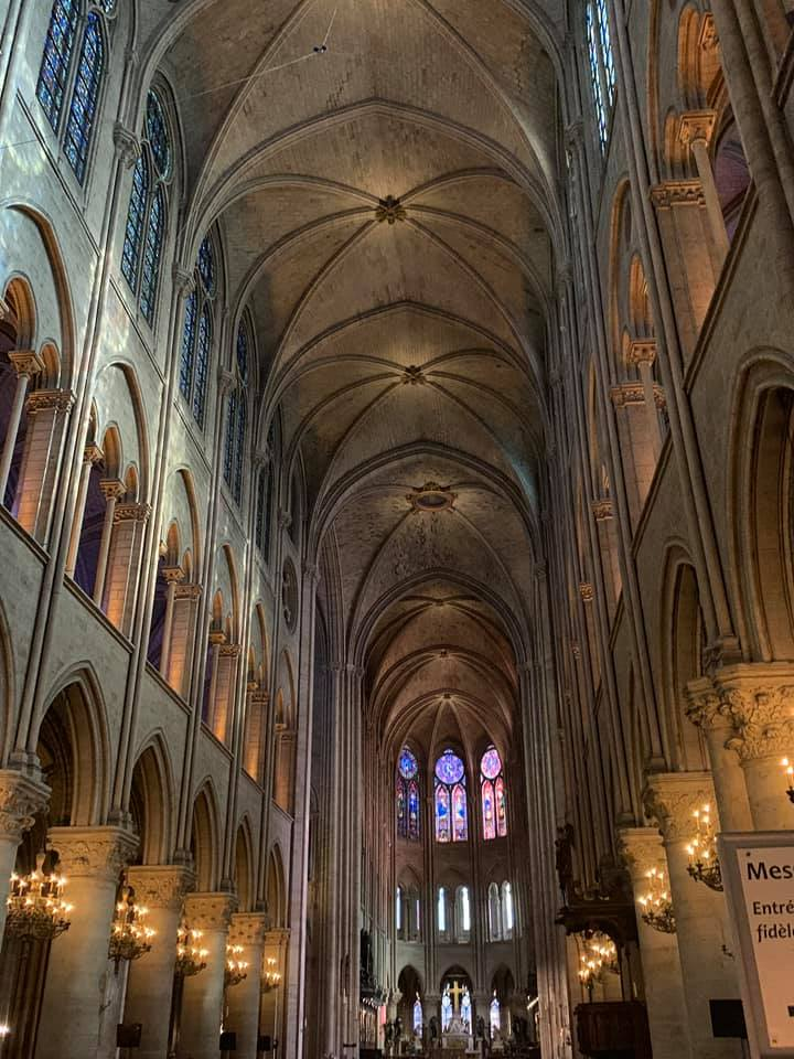 """October 2018"" Locals shared their memories and photos of the historic Notre Dame on April 15, 2019 after hearing the gothic Parisian cathedral suffered serious damage after a fire. (Image - Michelle Olson)"