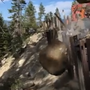 Authorities investigate viral video of boulder causing slope damage at Emerald Bay