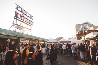 Photos Pike Place Market Sunset Supper Is The Event Of
