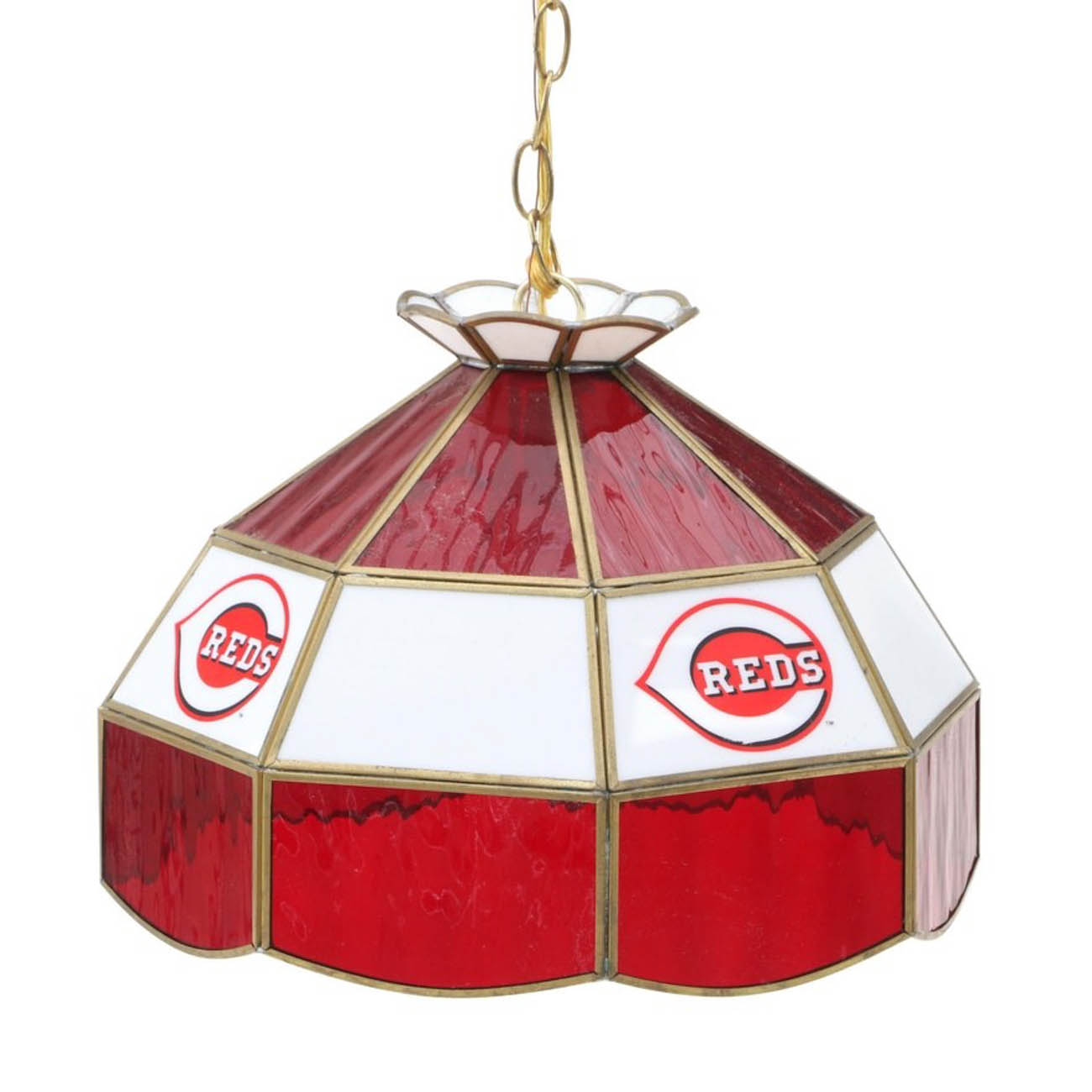 Cincinnati Reds pendant ceiling light fixture / Image courtesy of Everything But The House (EBTH) // Published: 12.6.18
