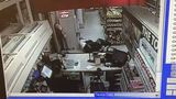 Customer takes down robbery suspect with choke hold, pins him to ground