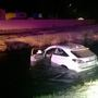 West Richland police rescue driver from car stuck in canal, investigate hit and run