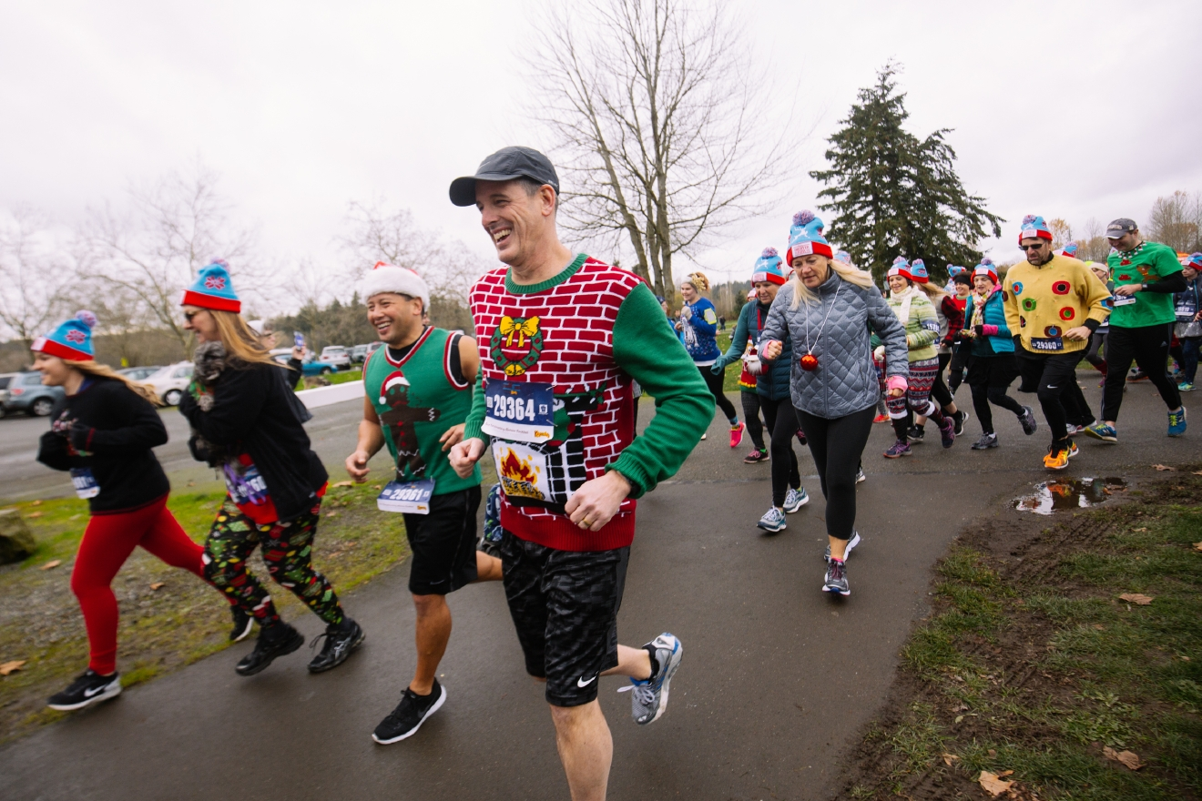Photos: Holiday fun at the Ugly Sweater Run at Marymoor | Seattle ...