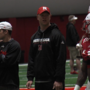 Fans give a big warm welcome to Scott Frost at Spring Game