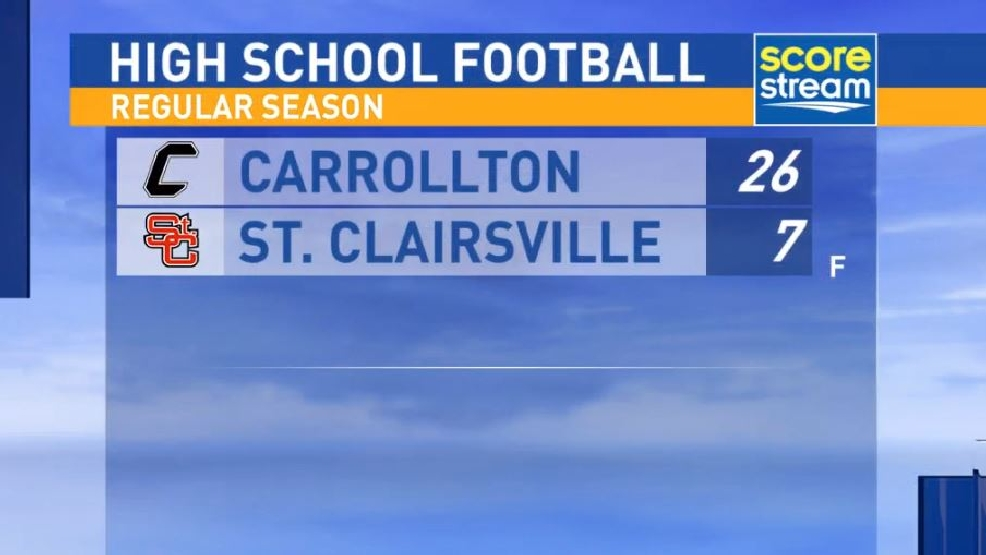 8.26.16 Highlights: Carrollton at St. Clairsville