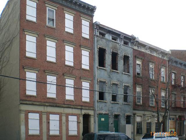 WESTFALEN LOFTS (Before) / ADDRESS: 1418-1422 Race Street (45202) / CREDIT: $602,477/ PREVIOUSLY: Vacant buildings / Images courtesy of the Ohio Department of Taxation, CC by 2.0, with changes