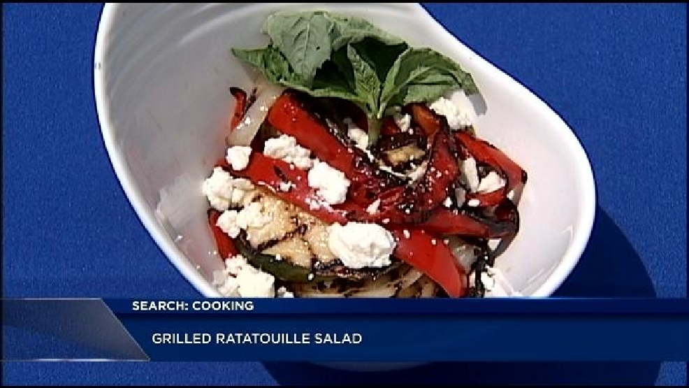 Grilled Ratatouille Salad with Feta Cheese | WJAR