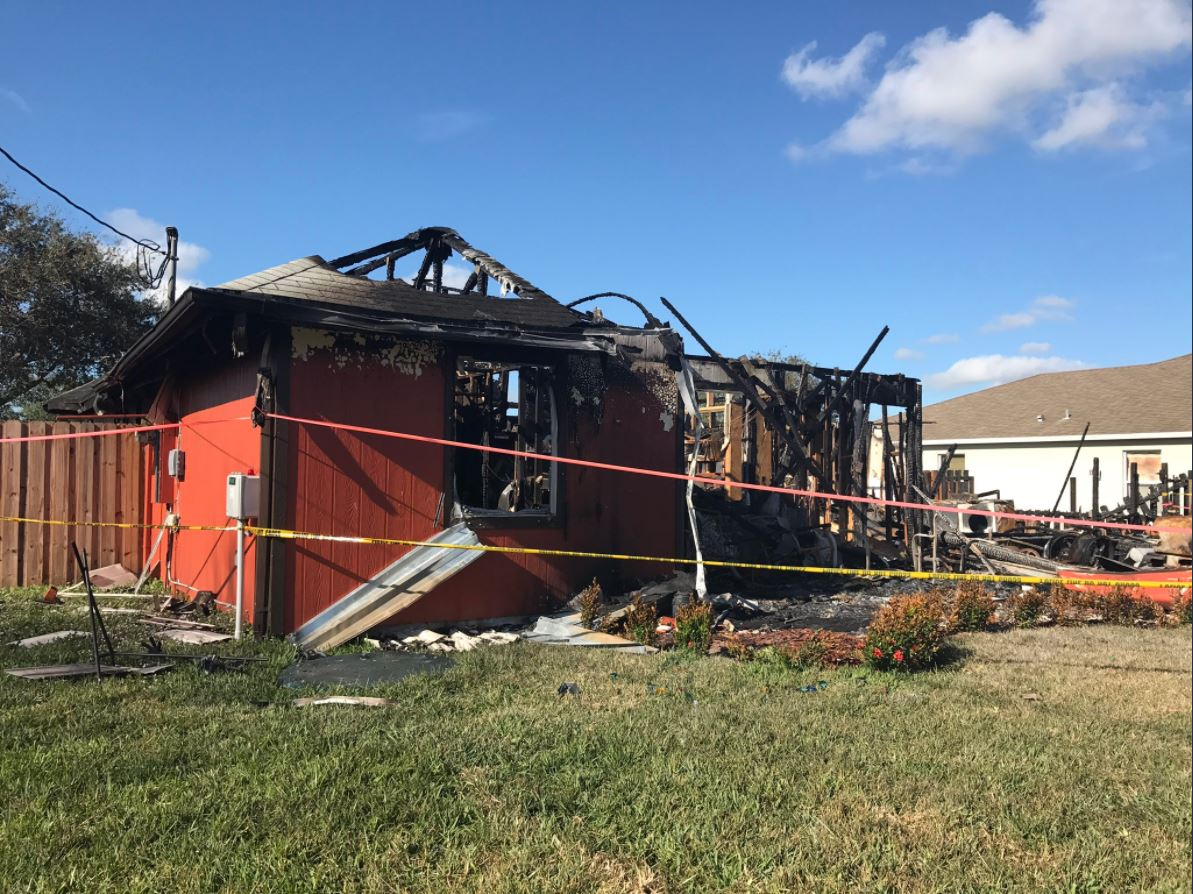 Port St. Lucie family of 4 loses everything after fire destroys home (WPEC)