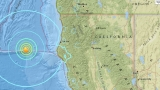 Major earthquake strikes near Northern California coast