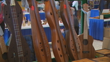 Woodwork on display at  Southwest High School