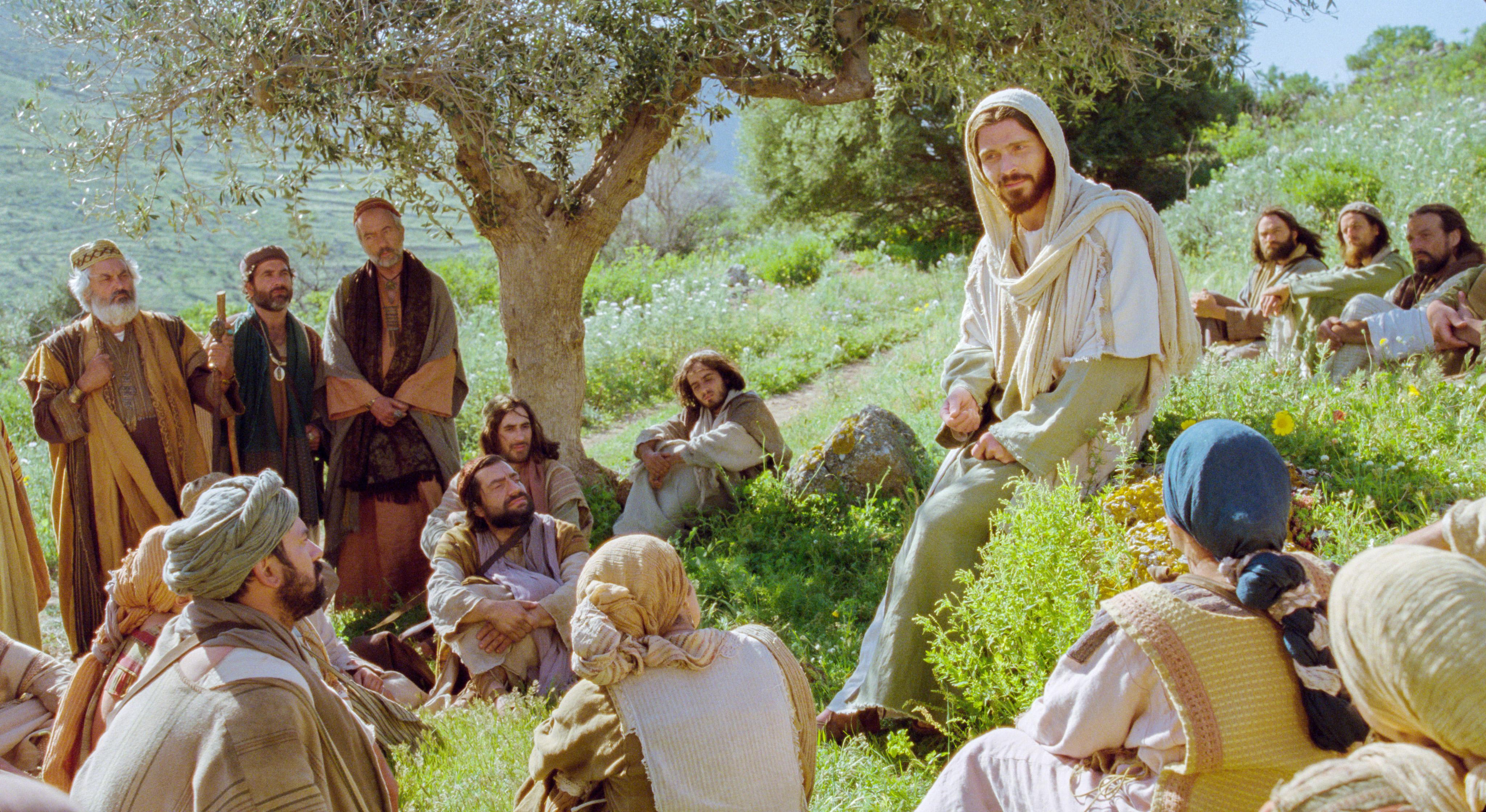 "Photo released with Friday's LDS church news statement. ""Jesus teaches his disciples."" (Photo: Intellectual Reserve Inc.)"