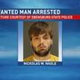 State police apprehend wanted Portage man
