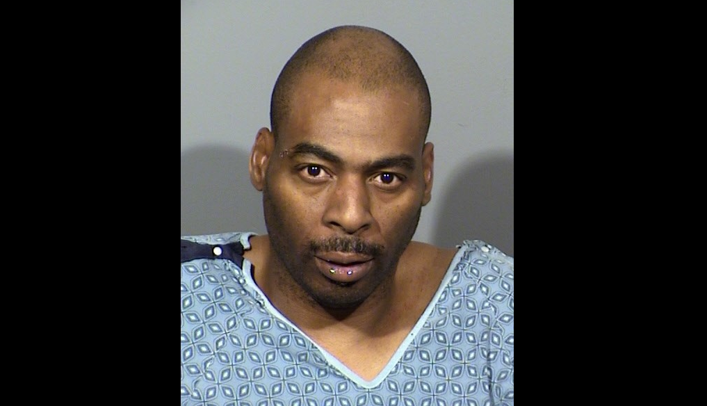 Ronald Leavell, 47, is now facing a murder charge after police say he was going 125 mph in a 25 mph zone and was high on marijuana when he allegedly blew through a stop sign, killing 26-year-old Gerardo Villicana. (LVMPD/KSNV)