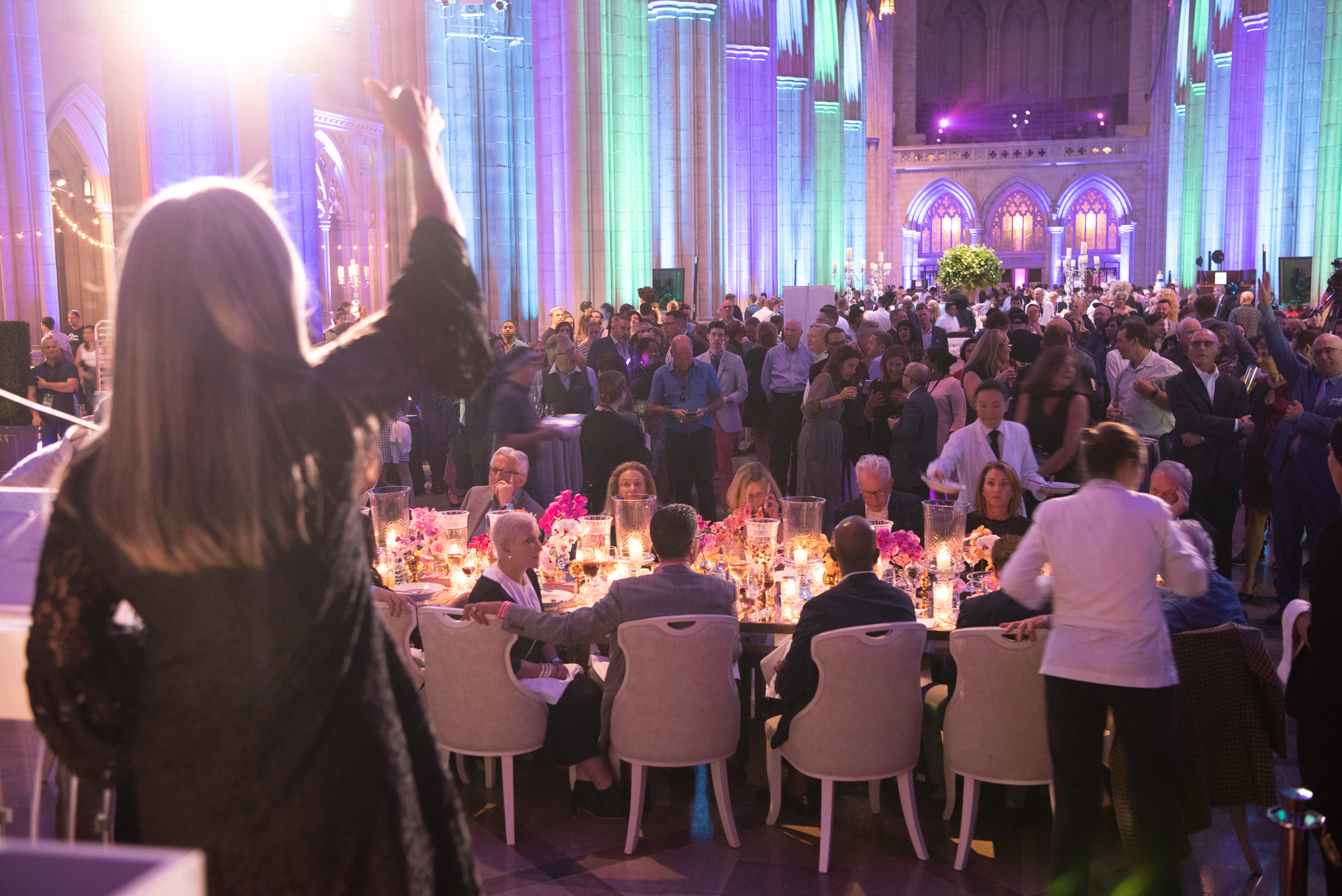 Anyone who attended the Human Rights Campaign's 7th annual Chefs for Equality gala on October 9 and left hungry did something wrong! The Washington National Cathedral was awash in rainbow as it played host to hundreds of Washingtonians eager to show their support for the HRC Foundation and their mission of fighting for full LGBTQ equality. And show their support they did, as the event raised{&amp;nbsp;} more than$300,000 for the foundation, through ticket sales, a silent auction and a live auction. More than 120 of the DMV's top chefs and mixologists were on hand to do the &quot;deliciously defiant&quot; theme proud, serving up small bites (like foie gras macaroons and dan dan noodles in mini carryout containers) and cocktails to guests. The luckiest guests dined at private tables,{&amp;nbsp;}where celebrity chefs created lavish five-course paired meals. Back by popular demand, the &quot;5/10/15 Speed Diner&quot; ticket option allowed guests to purchase a seat at the intimate diner-style counters where they were treated to a specialty cocktail and a mini five-course tasting menu prepared by five pairs of renowned chefs. If you missed the fun, scroll through our photo gallery to get an insider's look! (Image:{&amp;nbsp;}Jeff Martin for Human Rights Campaign)<br>