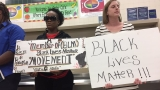 Black Lives Matter confront school board over bus brawl incident in North Charleston