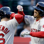Betts, Benintendi lead sizzling Red Sox past Angels, 8-2