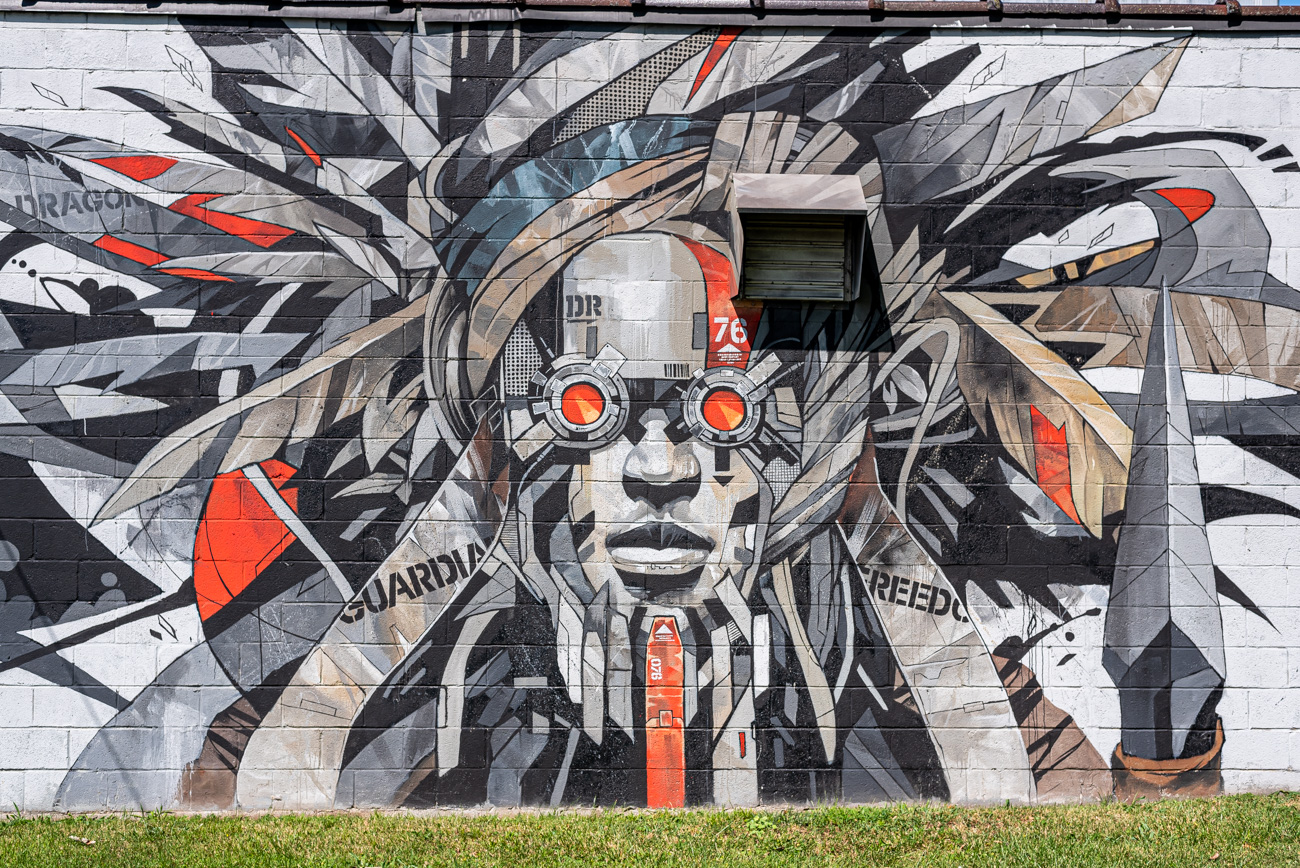 Street art in Lexington, KY / Image: Mike Menke{ }// Published: 8.25.20