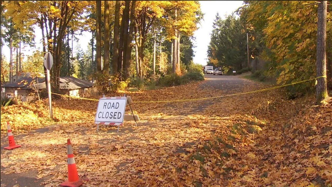 "Kitsap County Sheriff's detectives say a 9-year-old boy died from ""obvious homicidal violence"" at a home in a rural area near the Hood Canal town of Seabeck, Tuesday, Oct. 31, 2017. (KOMO News){&amp;nbsp;}<p></p>"