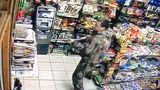 STORE CLERK SHOT| Man in camouflage opens fire, police search for suspect
