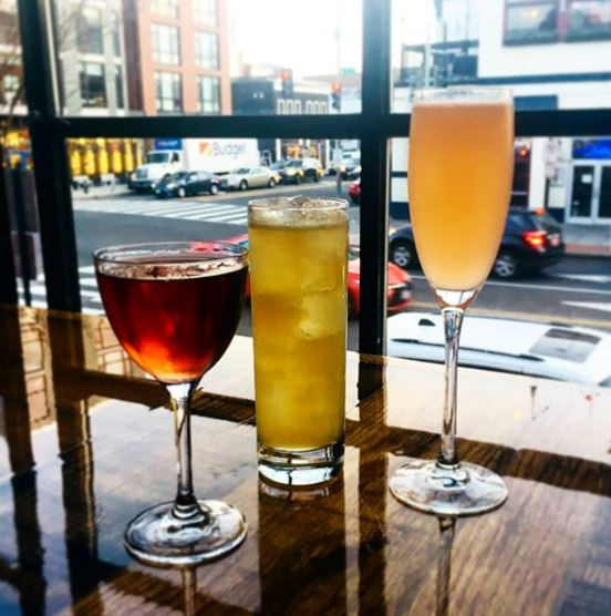 Head to Five to One around the corner, where Dram & Grain alum Trevor Frye slings some of the best cocktails on U Street—many inspired by the band playing 9:30 that night. (Image: Courtesy IG user @five_to_one_dc/ www. instagram.com/five_to_one_dc/){ }