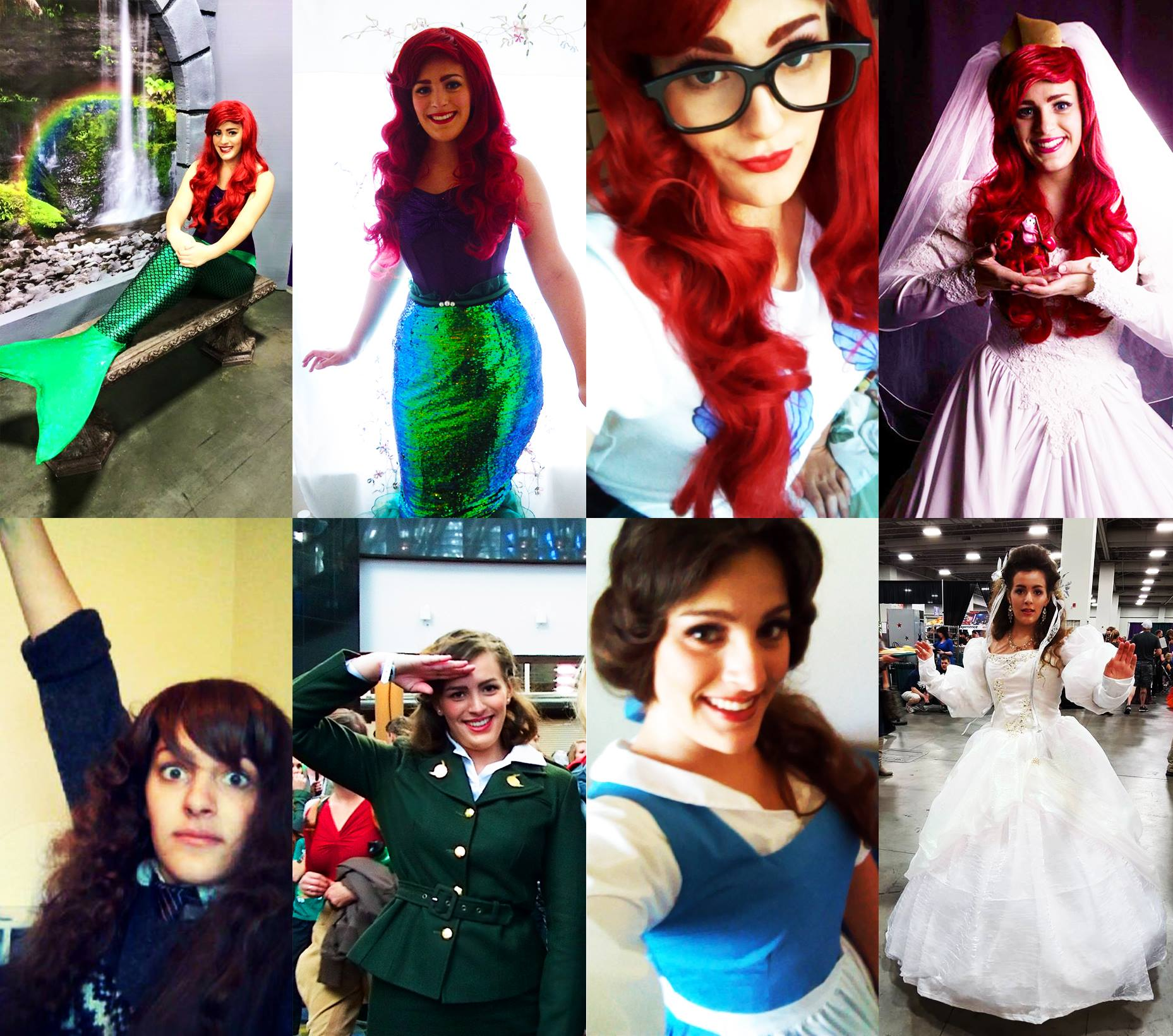 How Utah cosplayer Alaina Bastian constantly transforms her appearance. (Photo: Alaina Bastian)