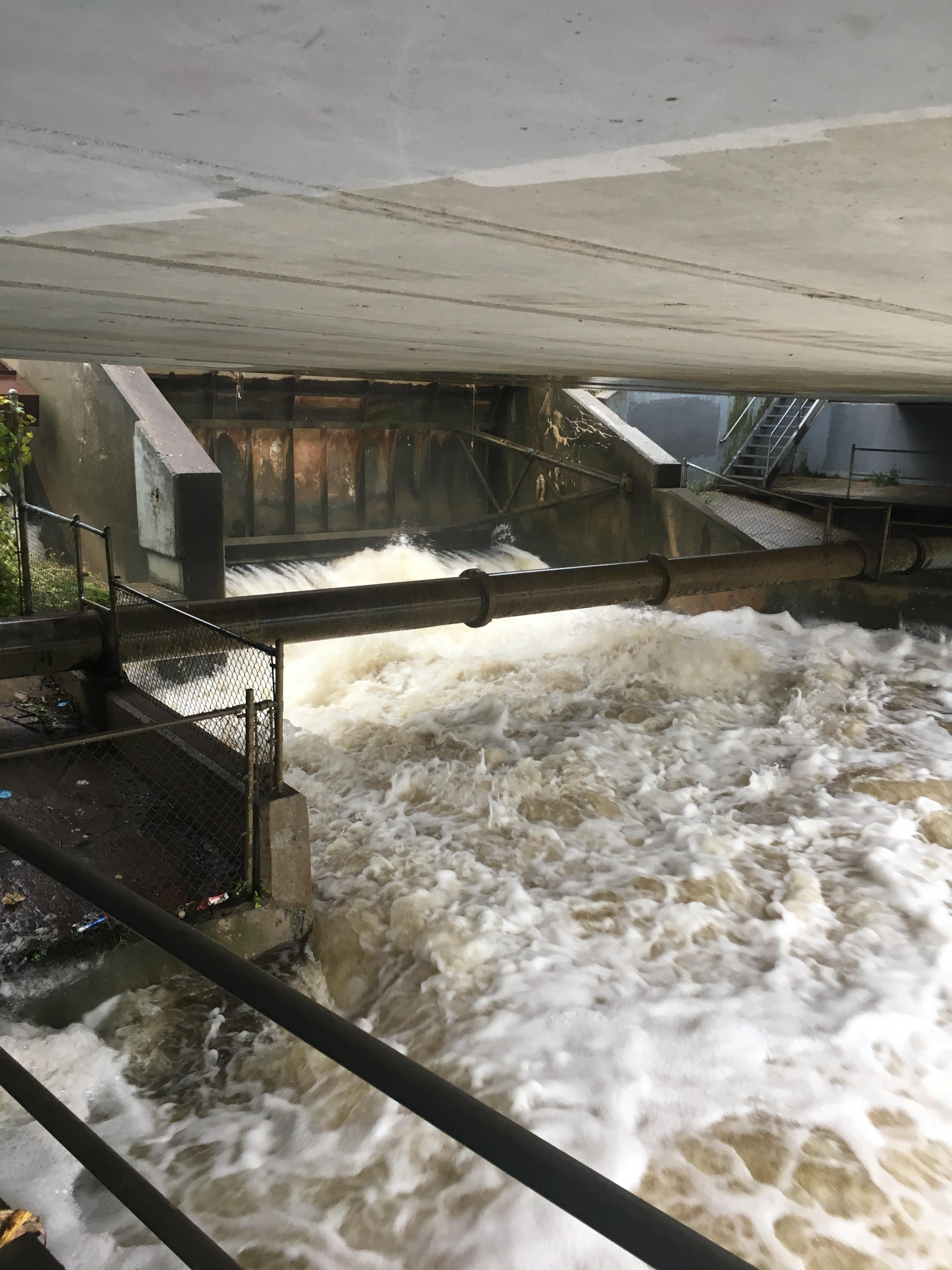 A portion of the dam at Briggs Mill -- which is considered to have significant hazard potential -- has been breached, according to the Village of Paw Paw. (Courtesy of Casey Sons)