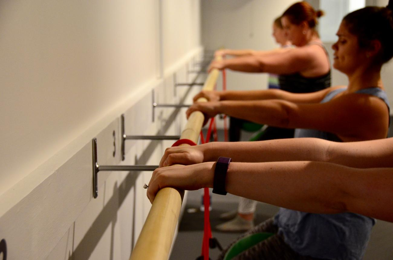 The Barre Code offers barre classes, along with other group fitness classes, in a Downtown Cincinnati studio. ADDRESS: 615 Main Street (45202) / Image: Leah Zipperstein, Cincinnati Refined // Published: 5.23.17