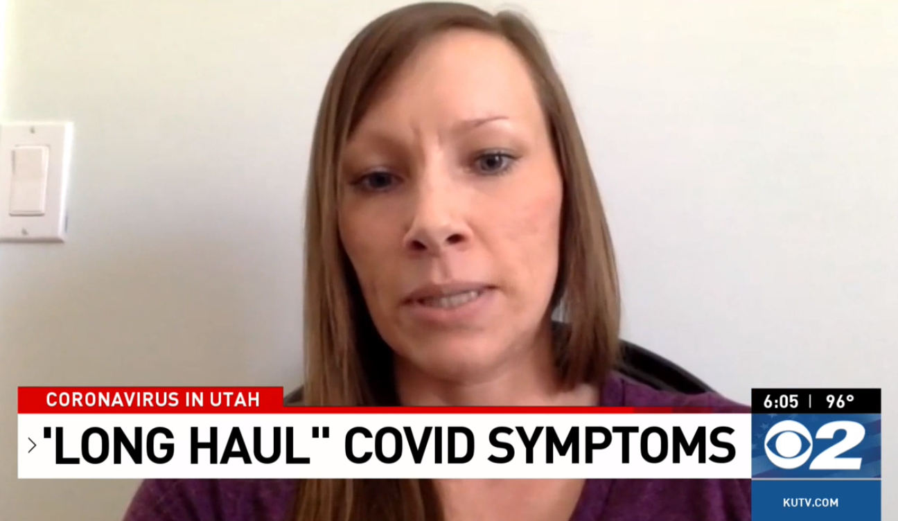 What started as nausea, stomach pain, a scratchy throat and a tight chest for Amanda Pluskett has morphed into a slew of other symptoms, including an occasional sudden, rapid heartbeat. (Photo: KUTV)