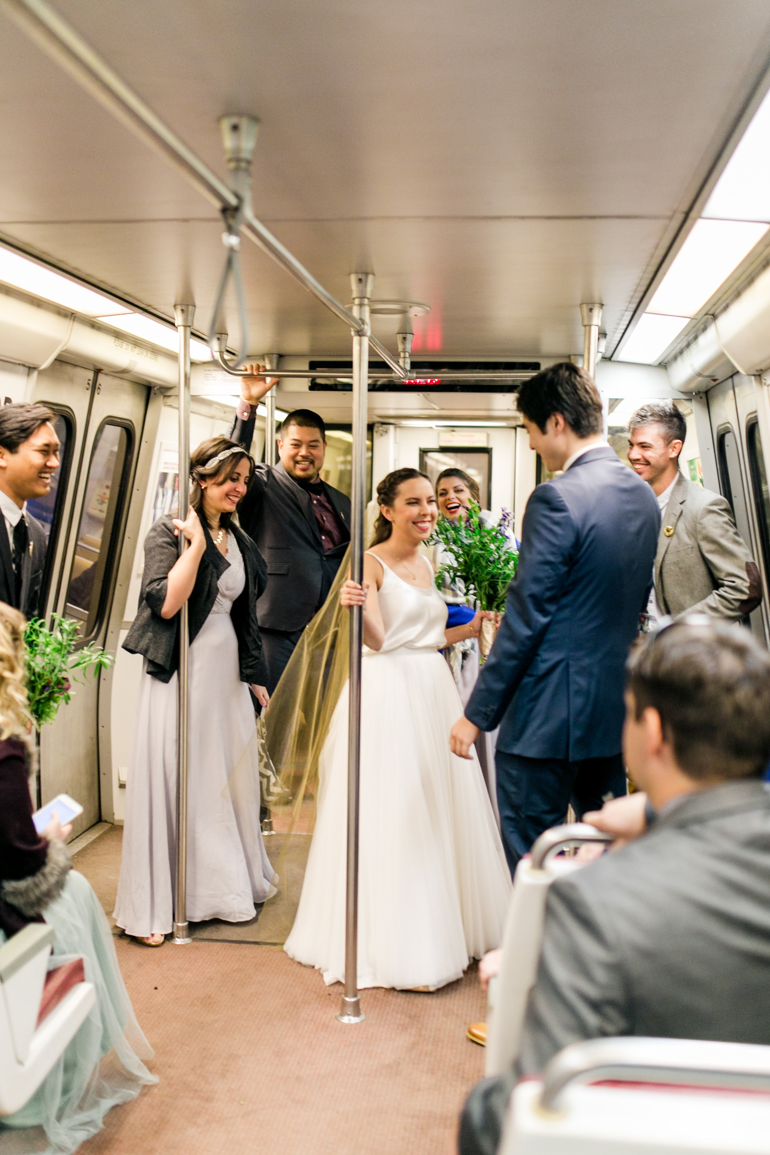 """Having a fun, unique, and trendy wedding on a budget in the District of Columbia turned out to be harder than we thought."" (Image: Brandon C. Photography)"