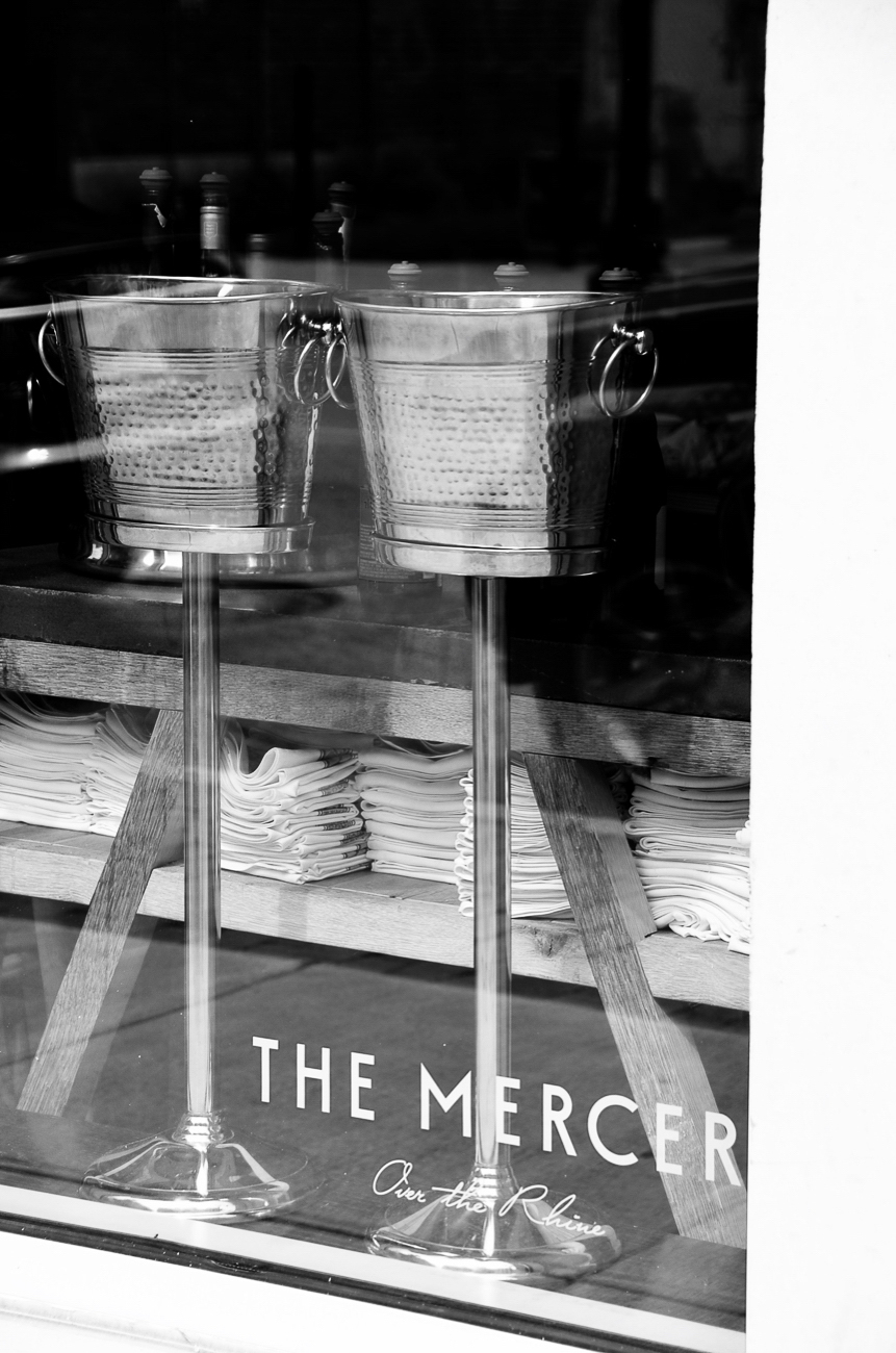 The Mercer OTR (1324 Vine Street) is currently open for carry out every Friday, Saturday, and Sunday evening. The full menu, which is viewable online (themercerotr.com), includes pasta dishes, salads, assorted dinner plates, sides, and sweets in addition to wine and cocktails. To order, email emmy@themercerotr.com by 3 PM on Friday or Saturday for same-day orders, and order by 9 PM on Saturday for Sunday orders. For those looking to hang out, outdoor seating will return beginning on Friday, May 15, and the dining room will reopen on Thursday, May 21 with new barriers between booths for added safety. / Image courtesy of The Mercer OTR // Published: 5.14.20