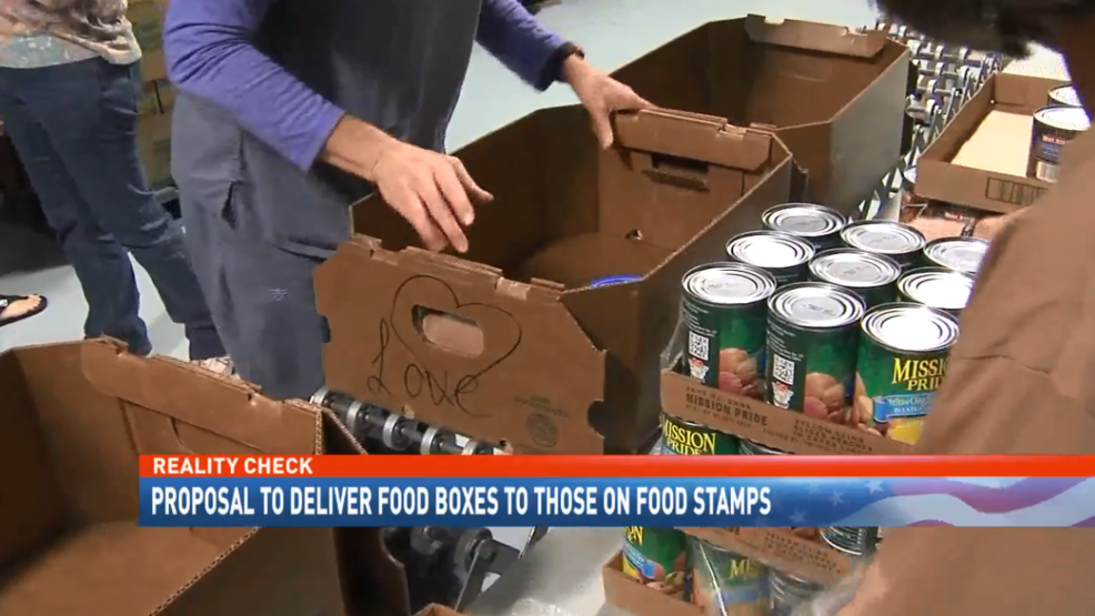 Reality Check: Proposal to deliver food boxes to those on food